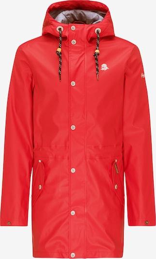 Schmuddelwedda Regenmantel in rot, Produktansicht