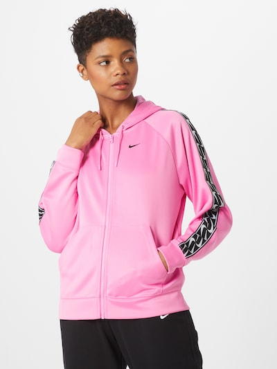 Nike Sportswear Veste mi-saison en rose / noir: Vue de face