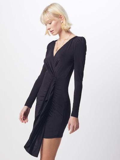 IVYREVEL Kleid 'DRAPE FRONT' in schwarz, Modelansicht