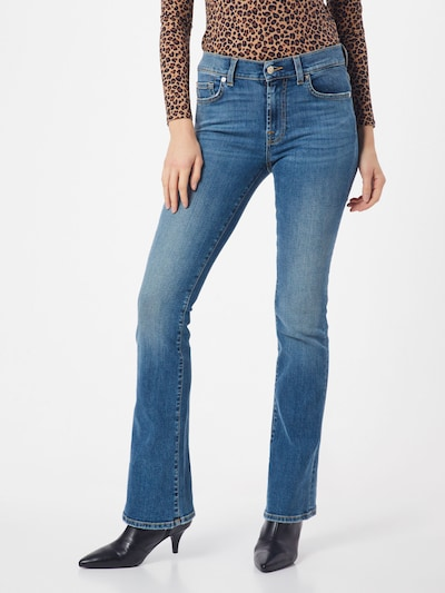 7 for all mankind Jeans 'BOOTCUT NOLITA' in hellblau, Modelansicht