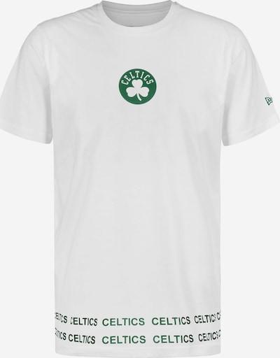 NEW ERA T-Shirt 'NBA  Boston Celtics' in grün / weiß, Produktansicht