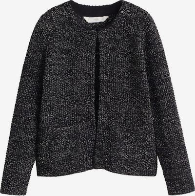 MANGO KIDS Strickjacke in schwarz / silber, Produktansicht