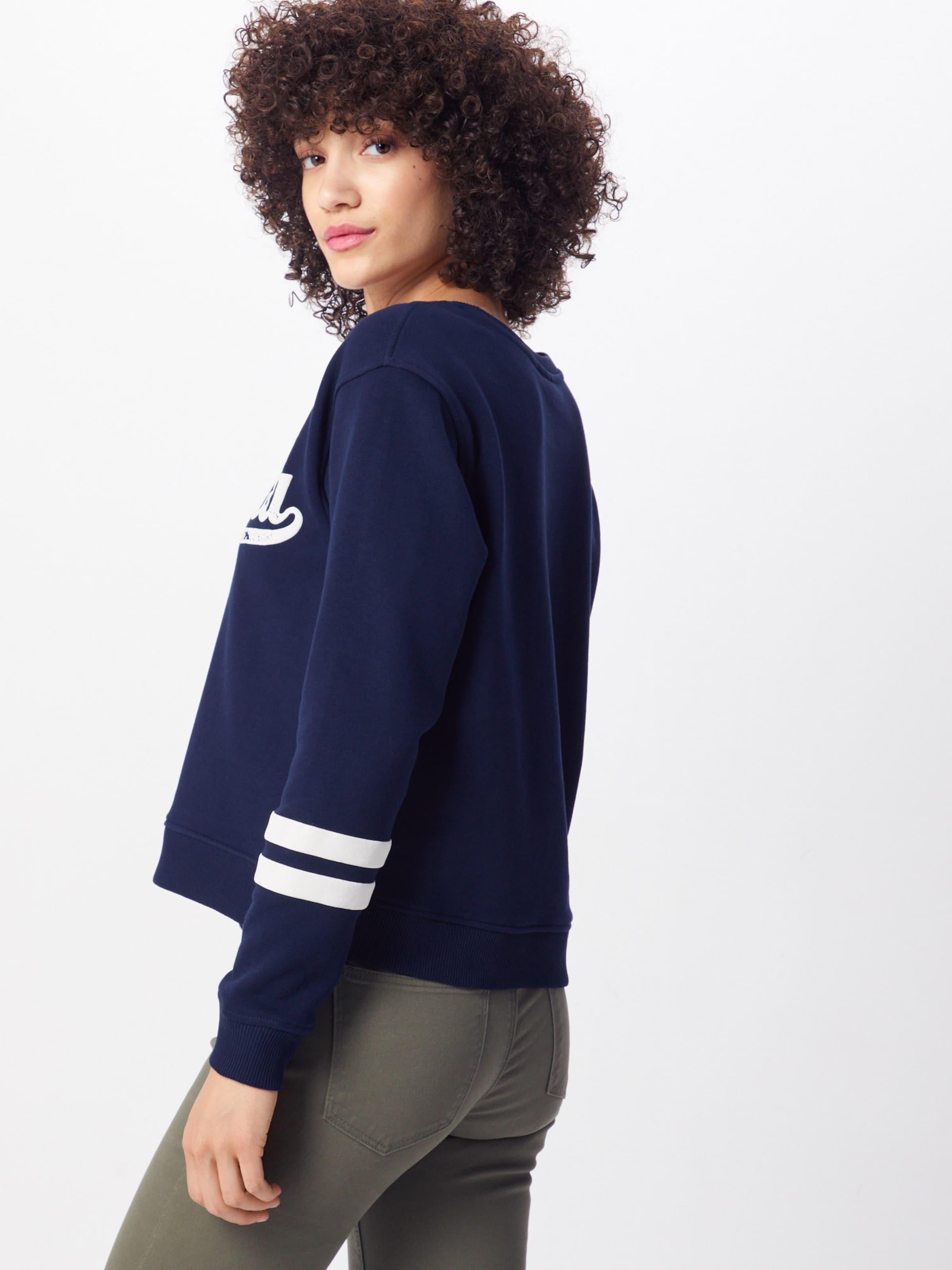 En Jacqueline 'ella' De NuitBlanc shirt Bleu Yong Sweat vNOm08nw