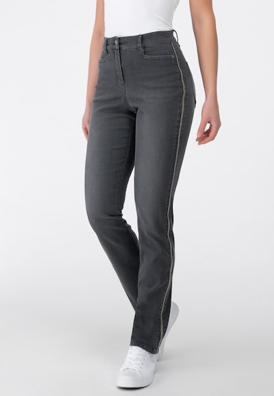Recover Pants Jeans in grey denim: Frontalansicht