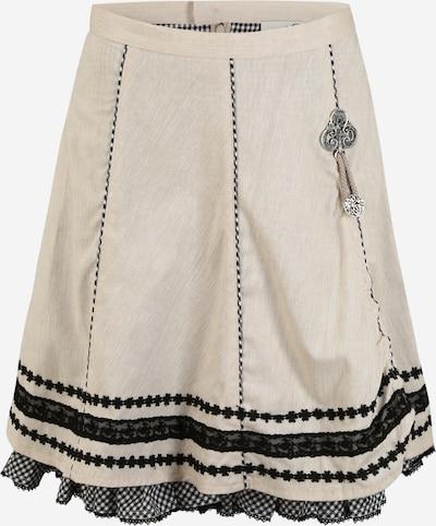 MARJO Krojová sukně - béžová / černá, Produkt