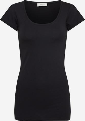 modström Shirt 'Trick' in Schwarz