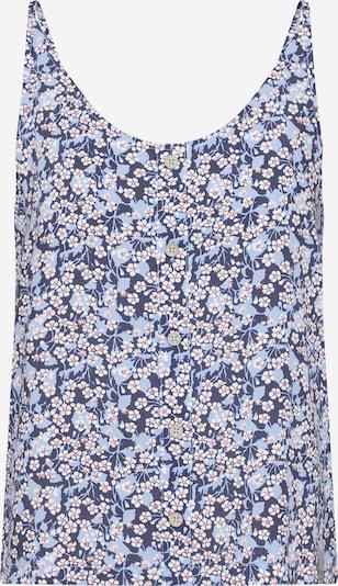 Iriedaily Top 'Bloomie' in blau, Produktansicht