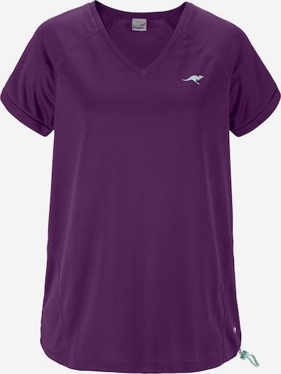 KangaROOS T-Shirt in pflaume, Produktansicht