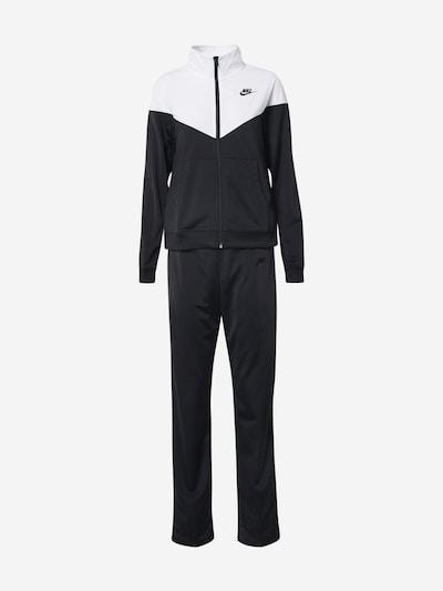Nike Sportswear Jogging komplet u crna / bijela, Pregled proizvoda