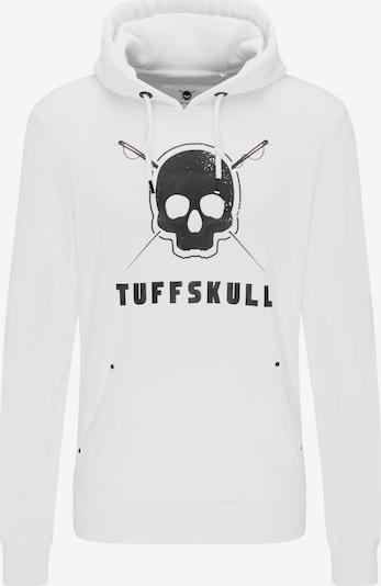 TUFFSKULL Sweatshirt in schwarz / weiß, Produktansicht