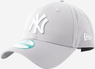 NEW ERA Cap '9FORTY League Basic' in grau / weiß, Produktansicht