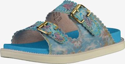 Laura Vita Pantolette in hellblau / mischfarben, Produktansicht