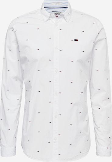 Tommy Jeans Hemd 'Flag Dobby' in dunkelblau / weiß, Produktansicht