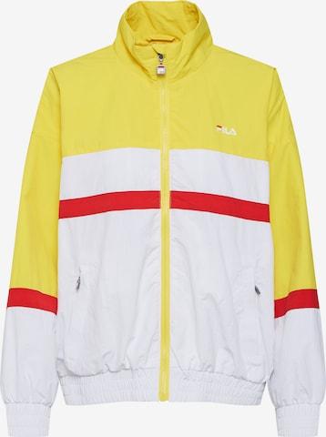 FILA Between-Season Jacket 'KAYA Wind Jacket' in Yellow