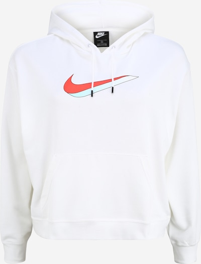 Megztinis be užsegimo iš Nike Sportswear , spalva - raudona / juoda / balta, Prekių apžvalga