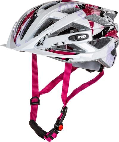 UVEX Fahrradhelm in pink / weiß, Produktansicht