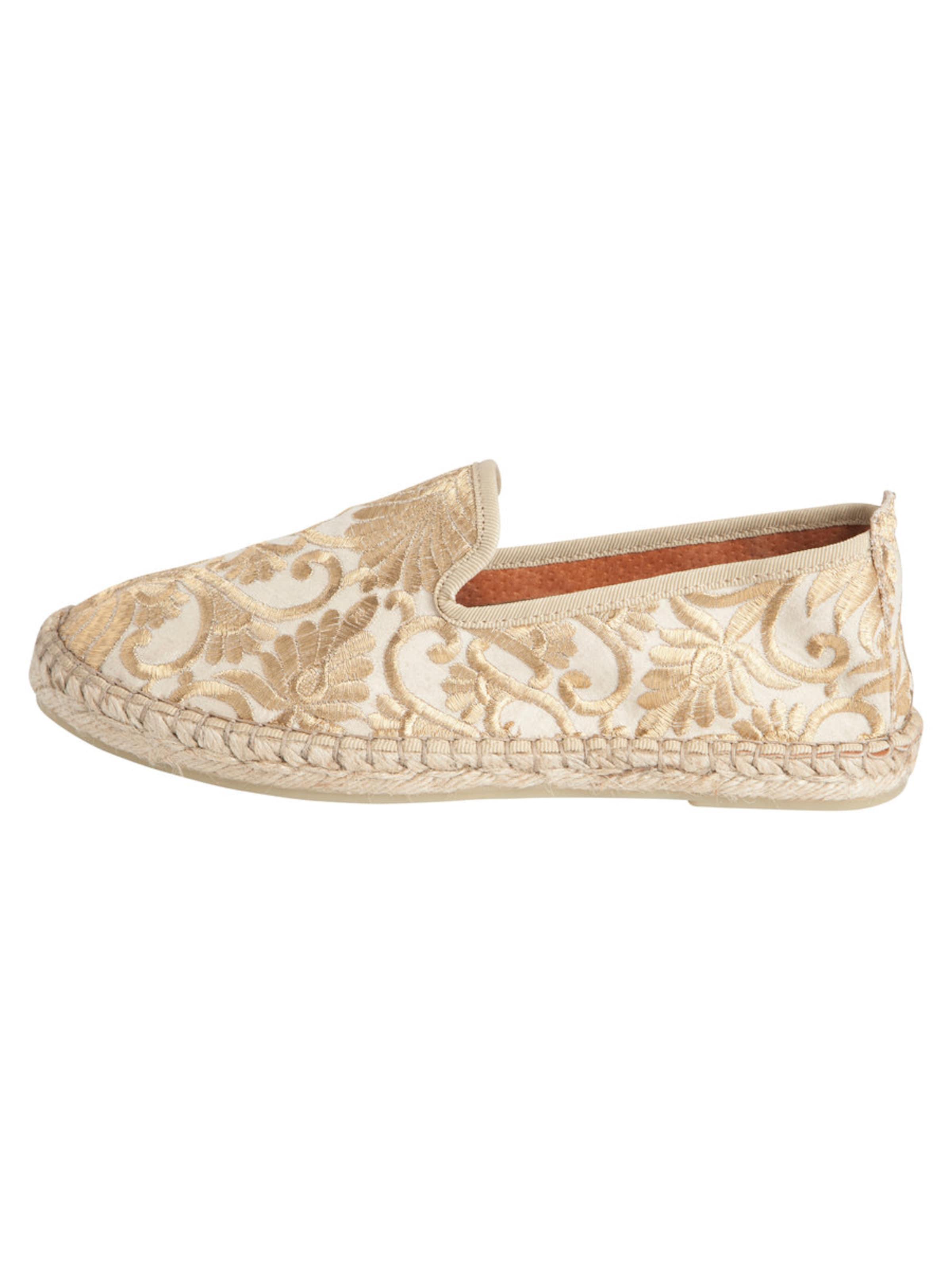 Haltbare Mode billige Schuhe PIECES   Stickerei Espadrilles Schuhe Gut getragene Schuhe