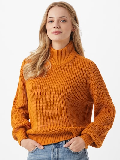 Noisy may Pullover 'TOMMY' in goldgelb, Modelansicht