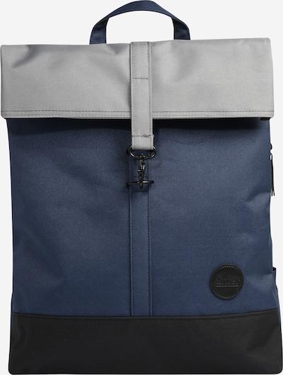 ENTER Rugzak 'City Fold Top' in de kleur Navy / Grijs / Zwart, Productweergave