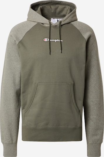 Champion Authentic Athletic Apparel Sweatshirt in khaki / oliv, Produktansicht