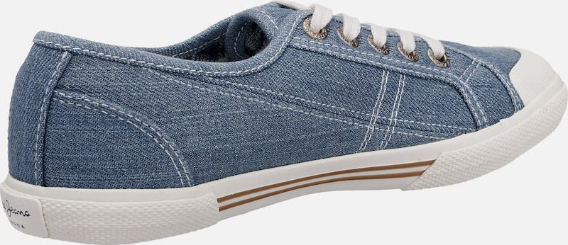 Pepe Jeans 'Abernew' Denim Sneakers