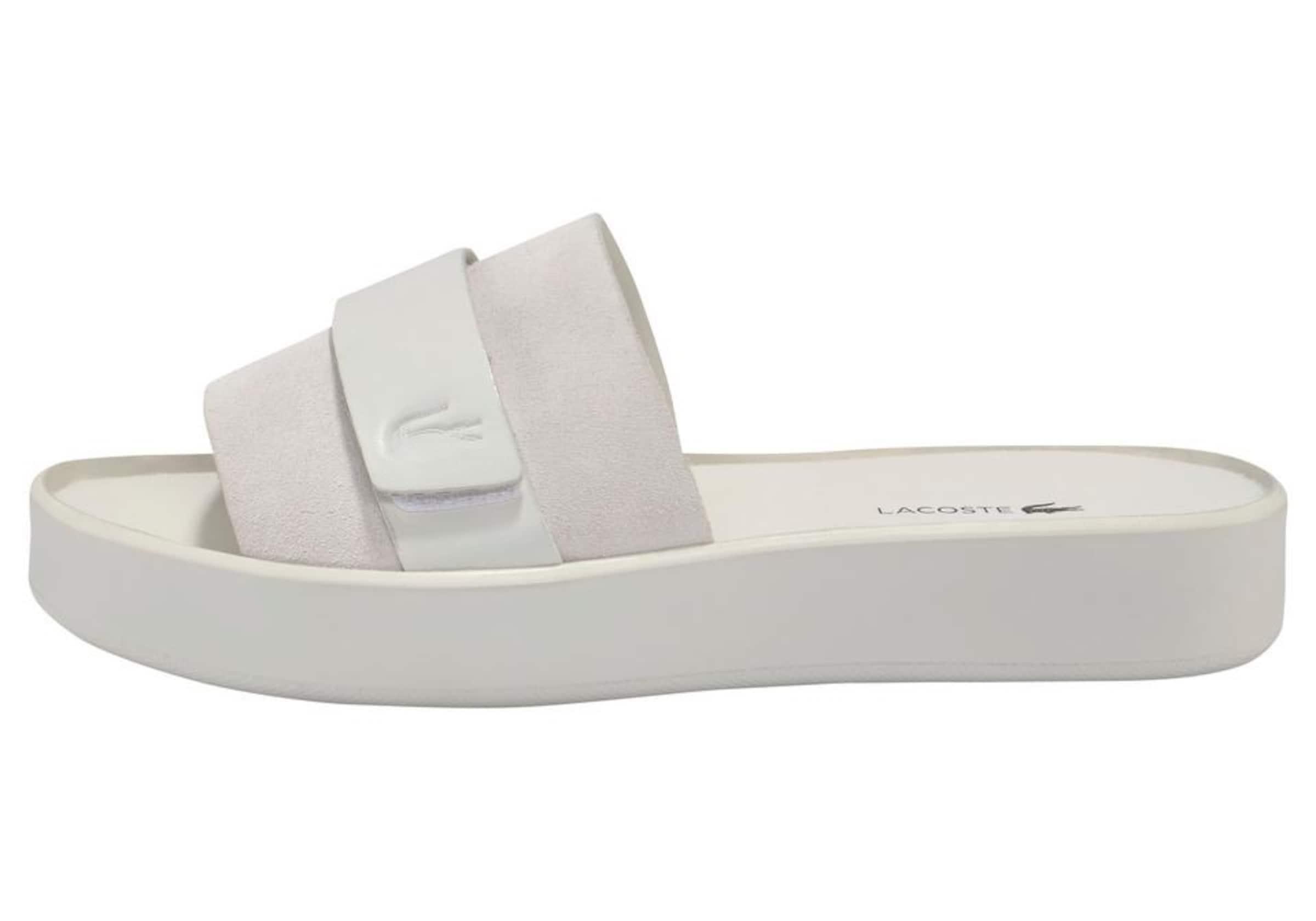 Lacoste Weiß Slide 1 119 'pirle Sneaker Cfa' In PkOn0w