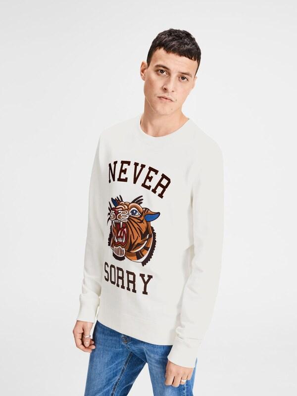 JACK & JONES Sweatshirt Tigerpatch