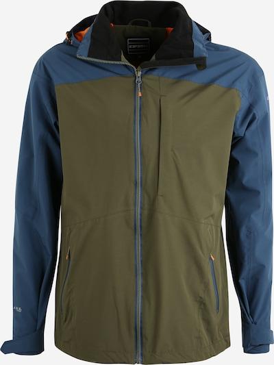 ICEPEAK Sportjacke 'BANTRY' in dunkelblau / oliv, Produktansicht