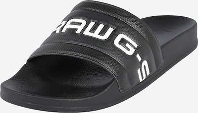 G-Star RAW Muiltjes 'Cart Slide III' in de kleur Zwart, Productweergave
