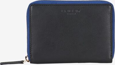 Crickit Portemonnaie 'Carina' in blaumeliert / schwarz, Produktansicht