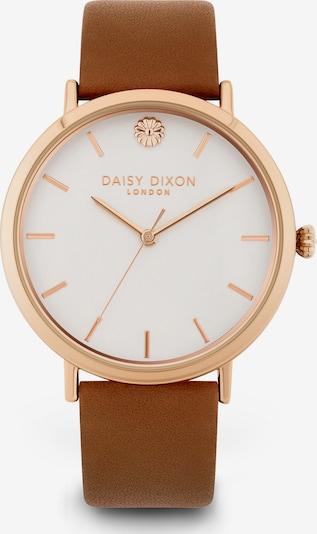 DAISY DIXON Uhr in karamell / gold / weiß, Produktansicht