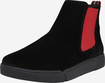 ARA Chelsea Boots 'Rom' en rouge / noir, Vue avec produit