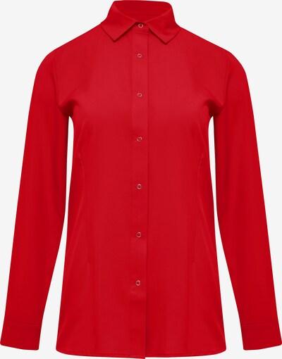 DREIMASTER Blouse in de kleur Rood: Vooraanzicht