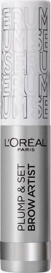 L'Oréal Paris Augenbrauenfarbe 'Brow Artist Plump & Set' in silber, Produktansicht