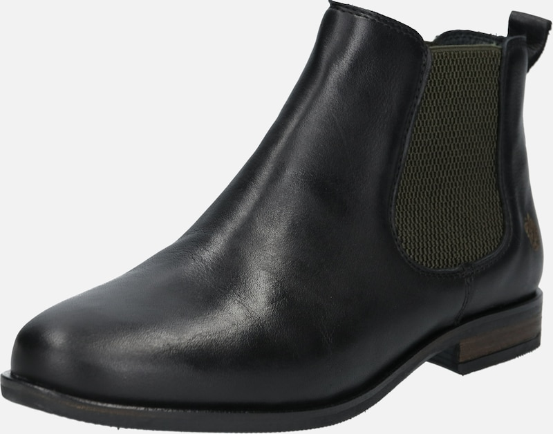 Apple of Eden Chelsea Boot 'Manon' in schwarz, Produktansicht