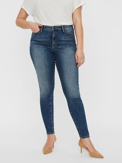 Vero Moda Curve Jeans 'VMSOPHIACURVE HR SKINNY JEANS MD- K NOOS' in blue denim, Modelansicht