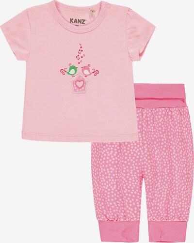 KANZ Set in pink / rosa, Produktansicht