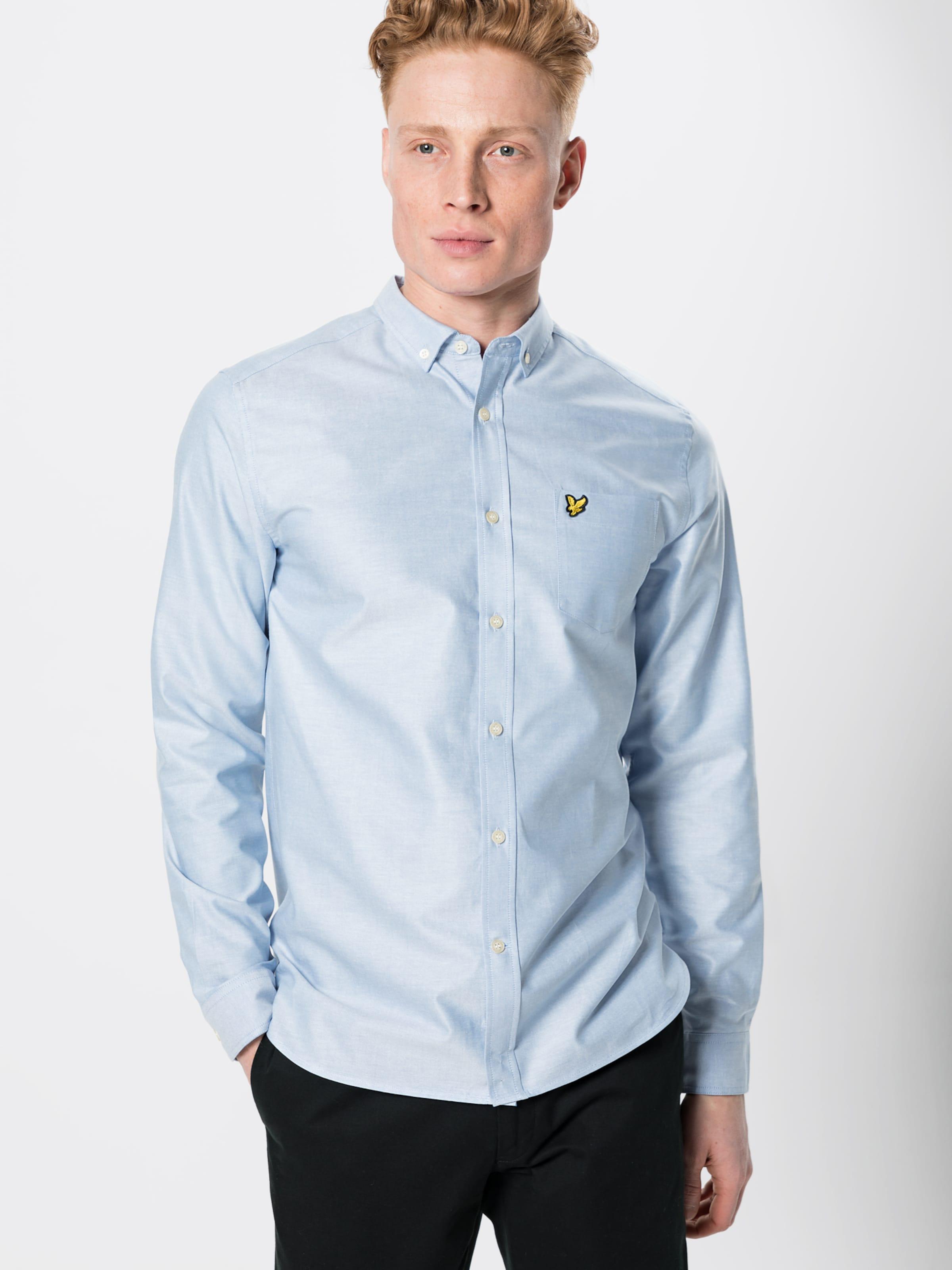 Shirt' Chemise 'oxford Lyleamp; En Bleu Clair Scott 6bgyf7