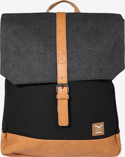 Iriedaily Rucksack in schwarz, Produktansicht