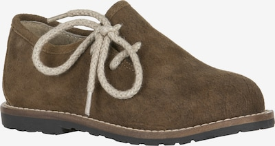 STOCKERPOINT Schuhe in beige / dunkelbraun, Produktansicht