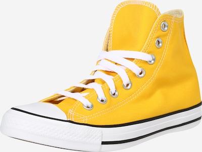 CONVERSE Baskets hautes en jaune, Vue avec produit