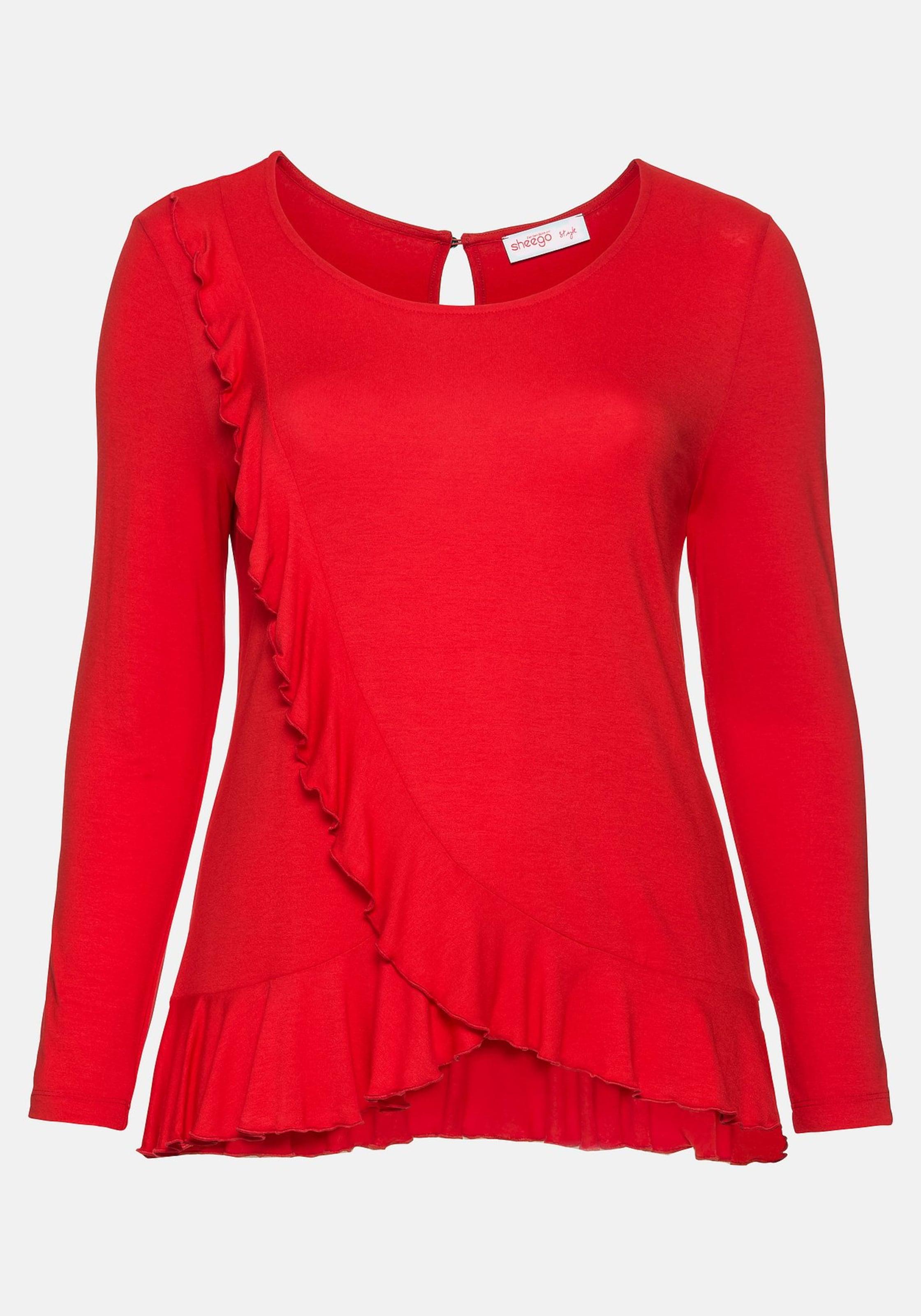 Shirt Sheego Shirt Sheego Rot Rot Shirt Sheego In In tsQCBhrdx