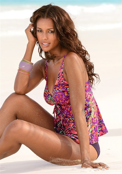 LASCANA Tankini in lila, Modelansicht