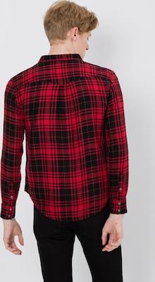 Rood Zwart Overhemd.Lee Overhemd Western In Rood Zwart Delicate Adoc2 Masoft Net