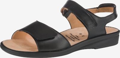 Ganter Sandalen 'Sonnica' in schwarz, Produktansicht