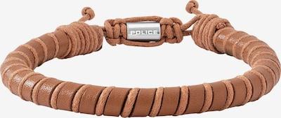 POLICE Armband in dunkelbeige / hellbraun, Produktansicht