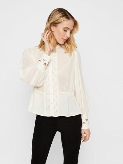 Y.A.S Bluse in beige, Modelansicht