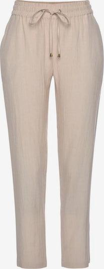 LASCANA Spodnie od piżamy w kolorze piaskowym, Podgląd produktu
