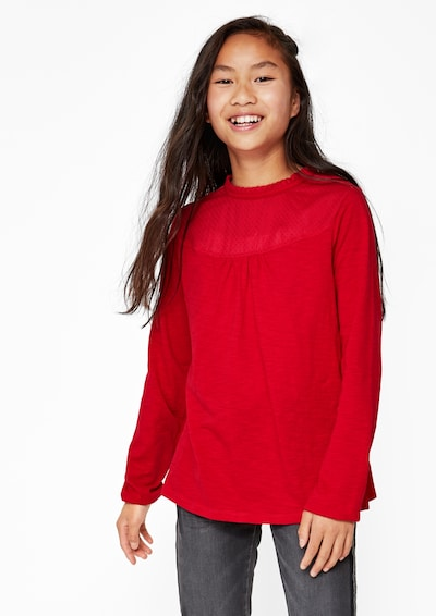s.Oliver Shirt in rot: Frontalansicht