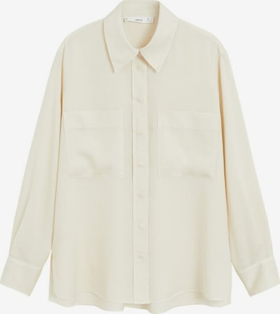 MANGO Bluse 'Classic' in nude: Frontalansicht